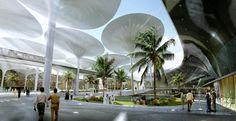 Il progetto sostenibile e di Masdar city, la città del futuro progettata da Foster.