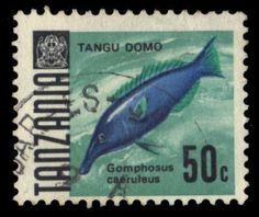 Tanzania Birdfish 50c 1967
