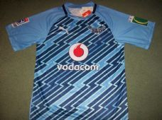 2012 Vodacom Blue Bulls BNWT New Super 15 Player Issue Rugby Union Shirt Adults XL