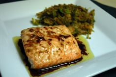 Easy and Delicious Asian Marinated Salmon - make a salmon lover out of anyone!
