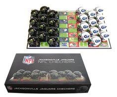 Jacksonville Jaguars Checker Set