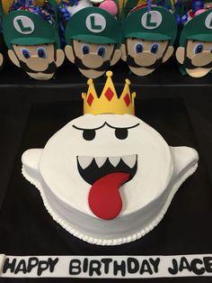 Mario cake that I can actually do Birthday Cakes For Men, Mario Birthday Cake, Birthday Gag Gifts, Super Mario Birthday, 5th Birthday, Birthday Sayings, Birthday Images, Birthday Greetings, Birthday Wishes