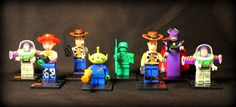 Custom Toy Story Minifigure Set. Lego Compatible. 8 Minifigures! by AwesomeBrix on Etsy