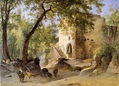 Franz Ludwig Catel  - Italian forest landscape