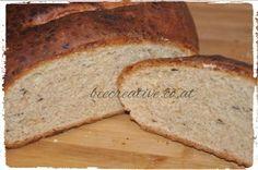 Das Kümmelbrot - Bee Creative Banana Bread, Desserts, Creative, Food, Brioche, Bread Baking, Food Food, Recipes, Tailgate Desserts