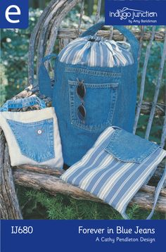 Forever in Blue Jeans | Bags made with BLue Jeans ...  ;)