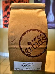 New Neighborhood Grinds' Coffee packaging