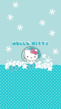 Hello Kitty Clipart, Hello Kitty Baby, Hello Kitty My Melody, Hello Kitty Pictures, Sanrio Wallpaper, Hello Kitty Wallpaper, Iphone Wallpaper, Hello Kitty Christmas, Christmas Cats