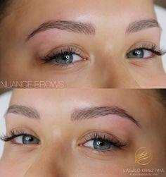 Nuance Brows - természetes szálazott szemöldök tetoválás Eyelashes, Eyebrows, Ajak, Hair Inspiration, Hair Beauty, Photography, Life, Eye Brows, Lashes