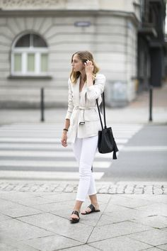 White jeans aren't as difficult to pull off as you might think!See how these 9 stylish bloggers rock the look. Look 1 View the Original Post / Follow Happily Grey on Bloglovin' Look 2 View...