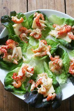 Shrimp salad rolls @ Fanni ja Kaneli/Lily