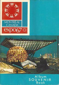 Montreal Canada Expo 67 Album Souvenir Book 1967 by UsedNYC on Etsy Expo 67 Montreal, Montreal Ville, Montreal Quebec, Quebec City, All About Canada, Book Expo, Canadian History, World's Fair, Vintage Ephemera