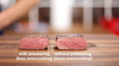 Want a delicious crust on your tender steak and pork chops? Learn to pre-sear your sous vide meats.