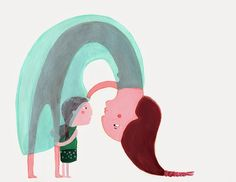 Monica Del Llano Pregnancy Art, Mostly Sunny, Illustrations And Posters, Mother And Child, Cute Illustration, Illustrator, Childhood, Packaging, Symbols