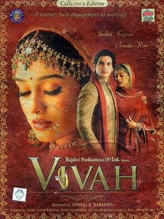 Awesome Bollywood: Vivah- Directed by Sooraj R. Barjatya. I love every single song in this movie...... fav bollywood movies