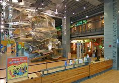 Boston Children's Museum.  Children under 1 year are free.  There is a special section for babies to play in.. be sure to bring hand sanitizer so your baby doesn't catch cold if they handle the toys!