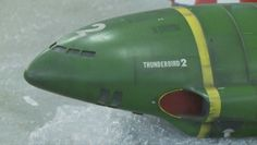 Thunderbird 2 model used in the new Thunderbirds 65 episodes