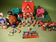 Animal Crossing merchandise! Way cool! Oh, and love the mouse pad!