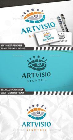 Art Eye Logo Template PSD, Vector EPS, AI #logotype Download: http://graphicriver.net/item/art-eye-logo/14464968?ref=ksioks