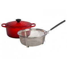 Dutch Oven Frying Set | Le Creuset #lecreuset
