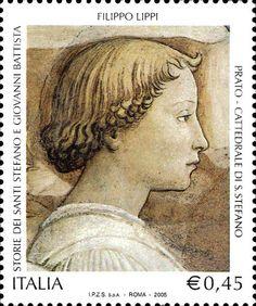 Italia 2004 - FILIPPO LIPPI (Fra) - Congedo di Santo Stefano, dettaglio - affresco - 1452-1465 - Cappella Maggiore, Cattedrale di Santo Stefano, Prato