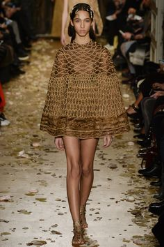 Valentino Spring 2016 Couture Fashion Show - Yasmin Wijnaldum