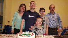 Cugino Lino con sorella Assunta e famiglia