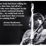 Interview with Jorma Kaukonen of Jefferson Airplane