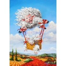 Full Of Hot Air PRINTS new on the Sheep Incognito website today
