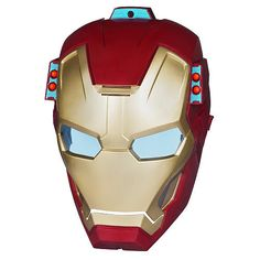 Iron Man Night Force Electronic ARC FX Mission Mask