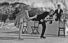 1920s-1930s: The ice-skating waiters of Switzerland