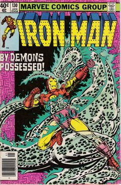 Iron Man 130 January 1980 Issue Marvel Comics by ViewObscura