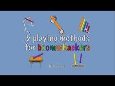 Vijf speelmanieren voor boomwhackers   Muziek In School