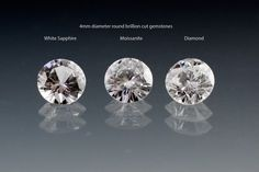 Comparison between White Sapphire vs. There are other durable and often more sustainable gemstone options like moissanites and white sapphires that provide a great and often more affordable alternative to diamonds. Bridal Rings, Wedding Rings, 1 Karat, Diamond Alternatives, Moissanite Rings, Diamond Vs Moissanite, Alternative Engagement Rings, Affordable Engagement Rings, Ring Verlobung