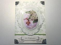 Glückwunschkarten - Karte Konfirmation Nr. 550 - ein Designerstück von MM-Bastelparadies bei DaWanda