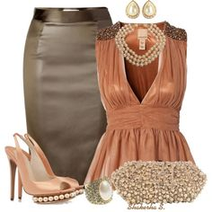 Pearls Polyvore