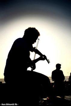 Micah The Violinist Singita Miracle Beach Fregene, Rome, Italy beach club, sunset & aperitif