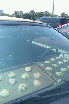 Dashboard Cookies....Why not ?? Your car would smell heavenly