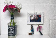DIY: Vaso de flores Jack Daniel's