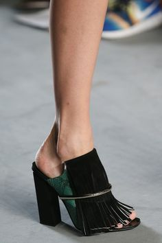 Spring 2015 Runway Shoes