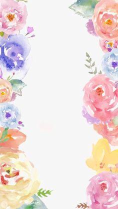 Des fleurs., Peint à La Main, Aquarelle, Des Fleurs Roses PNG Image and Clipart