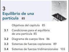 EQUILIBRIO DE PARTICULA Y DIAGRAMA DE CUERPO LIBRE - 07 - CAPITULO 3 ESTATICA - YouTube Youtube, Videos, Music, Strength, Musica, Musik, Muziek, Music Activities, Youtubers