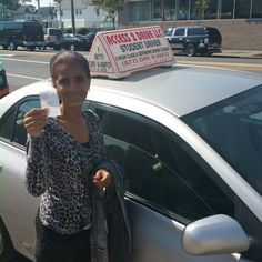 Jacqueline from #Jamaica WI.  Took our 4 #lessons package didn't pass her first test but came back today took her in #Queens #NewYork now has her #nyc #driverslicense.  #access2drive #drivingschool #learntodrive #teamaccess #welovewhatwedo www.drivingschoolsqueens.com