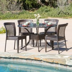 Found it at Joss & Main - 5-Piece Emerson Patio Dining Set