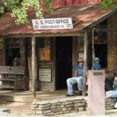 Luckenbach, TX.  Just for Willie and Waylon