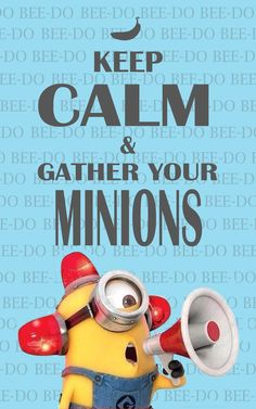 Keep calm and love minions Brought to you for your enjoyment by Just-In-CaseDeck.com