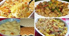 Tipy a triky Fried Rice, Potato Salad, Mashed Potatoes, Macaroni And Cheese, Grilling, Food And Drink, Cooking Recipes, Ethnic Recipes, Club