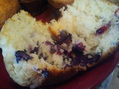 Bisquick Blueberry Muffins. quick, easy and yummy! I replace the sugar with honey and the oil with greek yogurt, healthier and still delicious