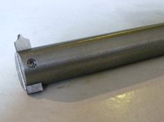 Gear Cutters by mikesworkshop -- Homemade gear cutters fabricated from 3 x 6 x 50mm gauge plates. Cone drills used for cutter profiling. Cutters are trimmed to 25mm, hardened, tempered, and mounted to 16mm round steel bar holders. http://www.homemadetools.net/homemade-gear-cutters