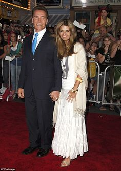 Dynamic duo: Arnold Schwarznegger and Maria Shriver - pictured together in June 2006 -  ended their relationship five years ago but still have yet to officially divorce